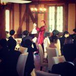 結婚式披露宴でマジックショー in 京都